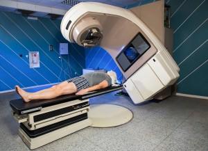 Patient undergoing radiotherapy