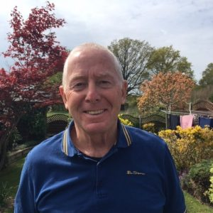 Mr Bill Short, robotic-assisted radical prostatectomy patient